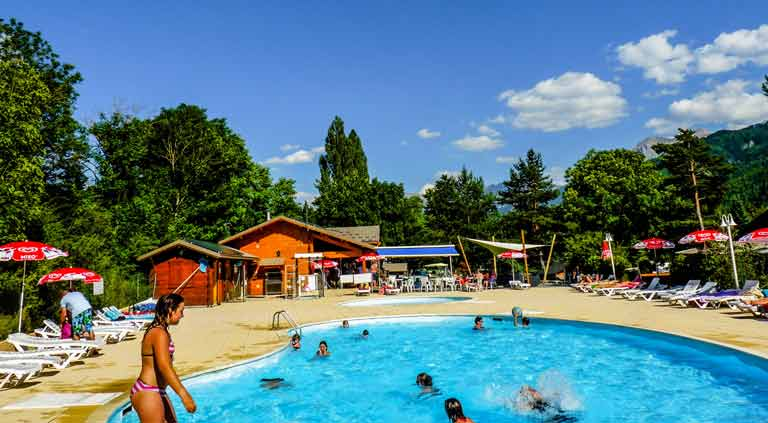 camping avec piscine alpes haute provence