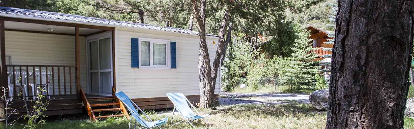 location mobil home Alpes