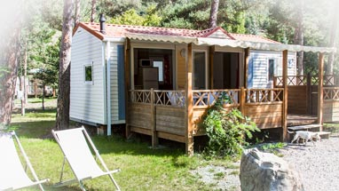 location mobil-home cocoon haute provence
