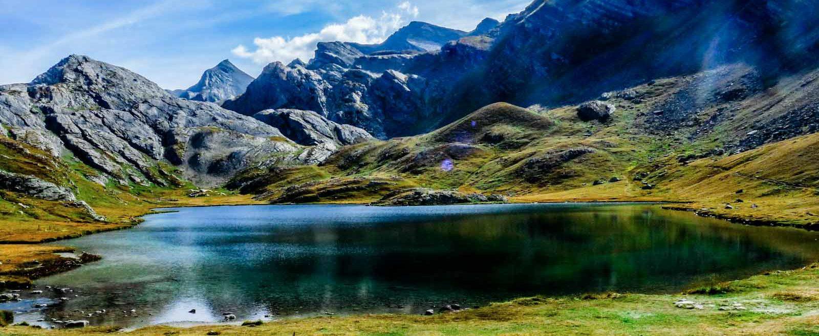 camping à la montagne, Alpes