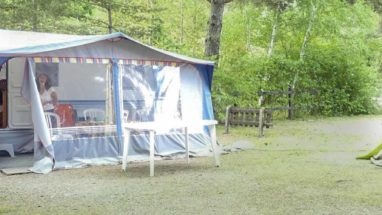 location caravane camping hautes alpes