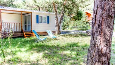 location cottage mediterraneen camping paca