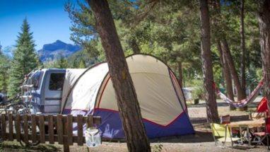camping pour caravane en provence
