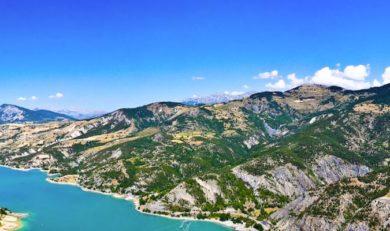 camping proche du lac de Serre-Ponçon