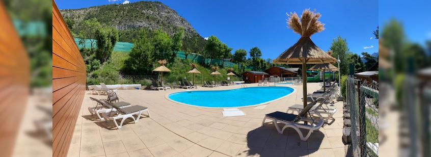 camping avec piscine ubaye