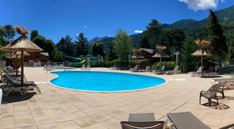camping avec piscine chauffée en paca